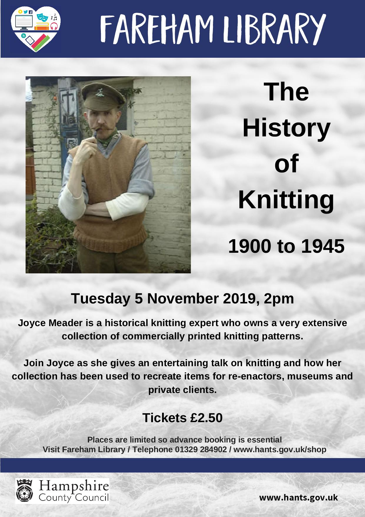 The History of Knitting 1900 to 1945