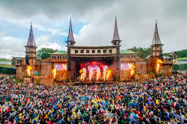 Boomtown festival. Picture: Scott M Salt