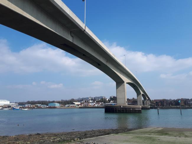Itchen Bridge.