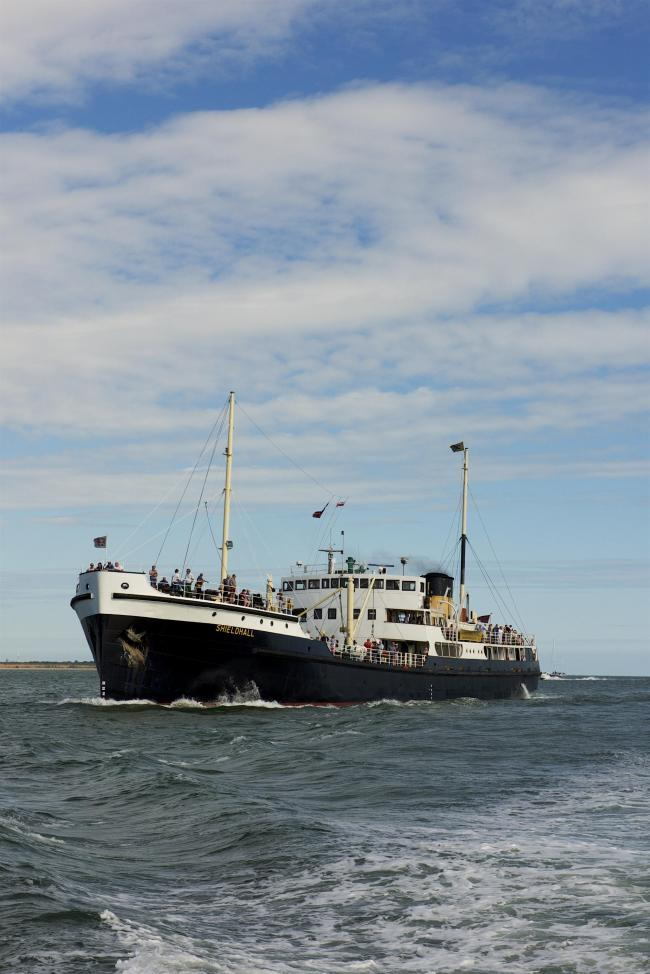 Steamship Shieldhall will have her last sailings of 2019 this weekend. Picture: Jan Sutton