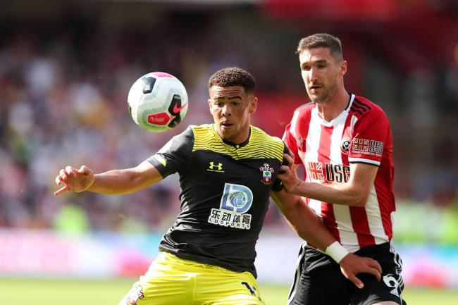 Che Adams in action against Sheffield United