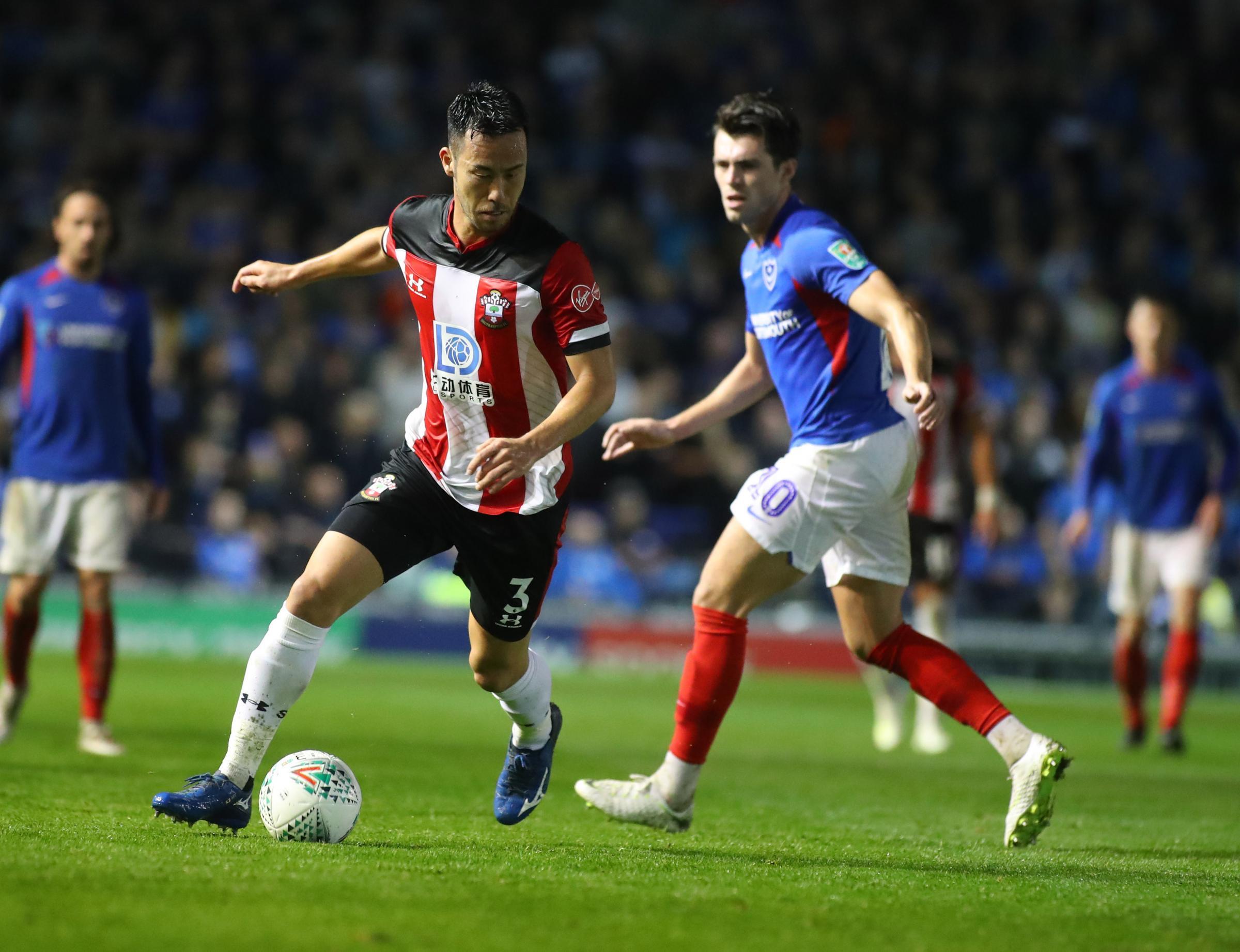 Southampton defender Maya Yoshida wins his 99th cap for Japan