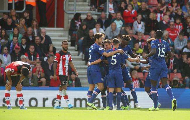 Disappointment for Saints as Chelsea celebrate