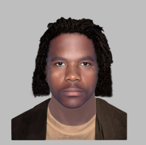 Police have released an E-fit of a man they want to trace.