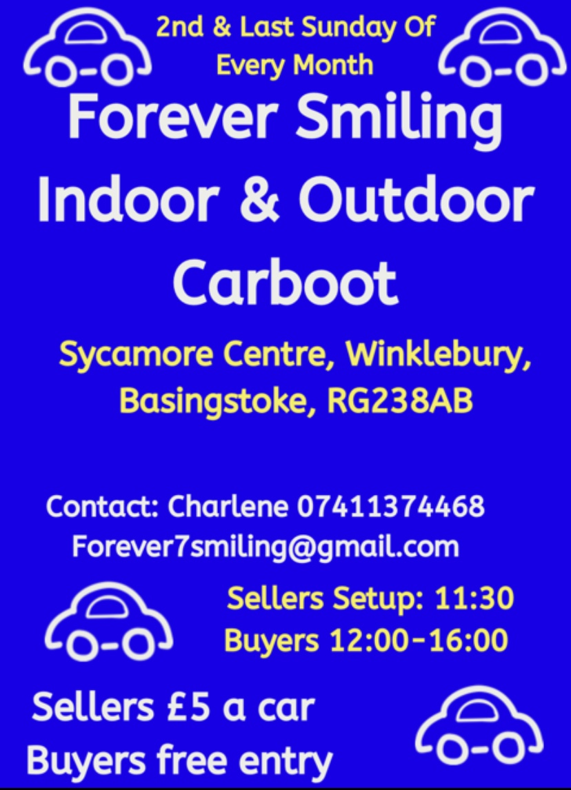 Forever Smiling Indoor and outdoor Car Boot
