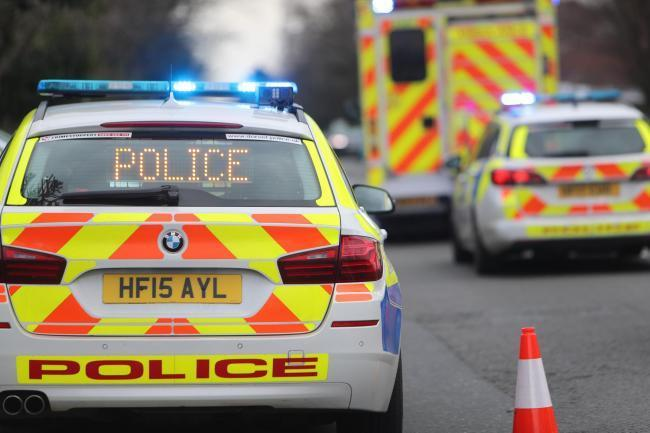 Police are appealing for information after a pensioner suffered serious neck and chest injuries in a crash.