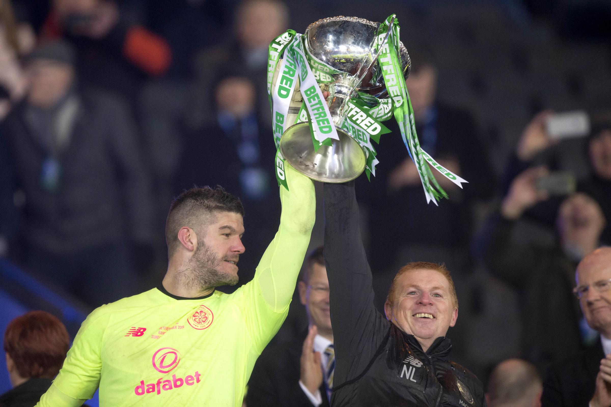 Celtic boss: Re-signing Fraser Forster may not be realistic