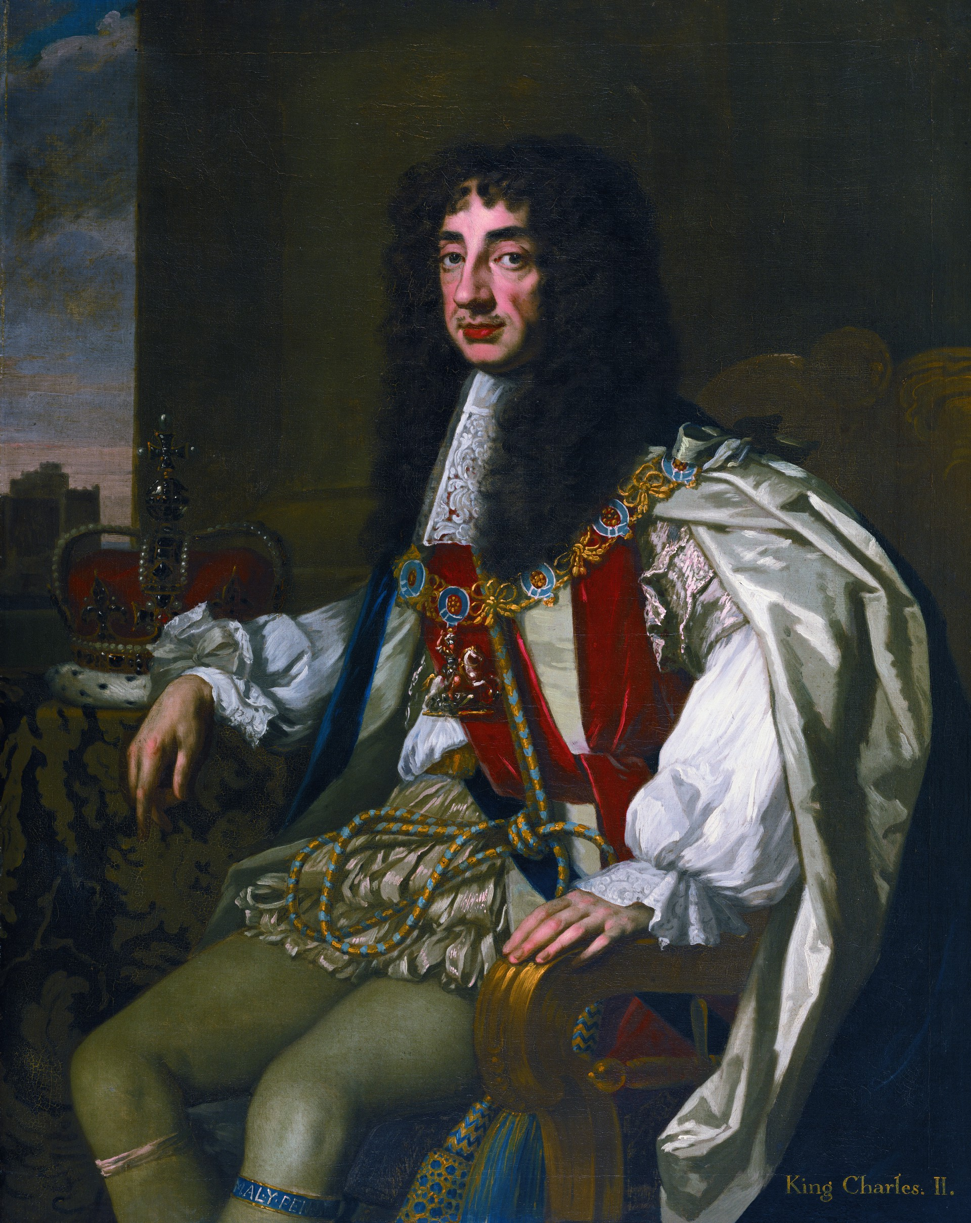 The Merry Monarch: Charles II and the Women in his Life