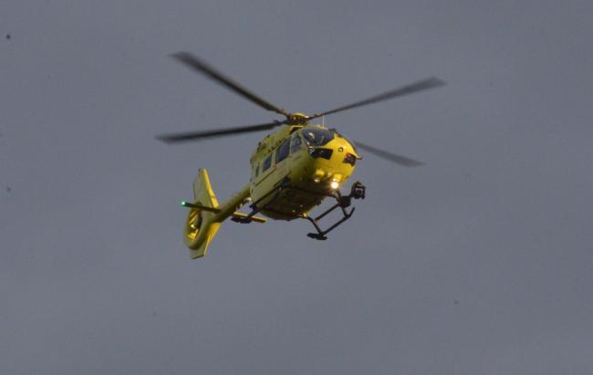Air ambulance lands at Bournemouth sports club as emergency services called to incident