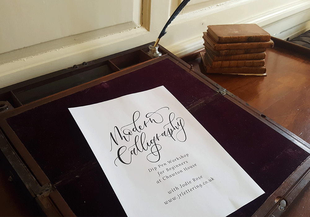 Calligraphy Workshop: Valentine's Special