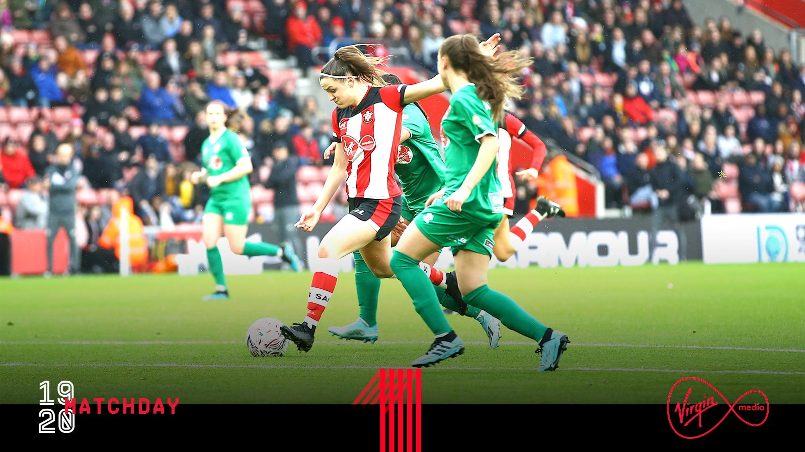Southampton Women knocked out of Women's FA Cup at St Mary's