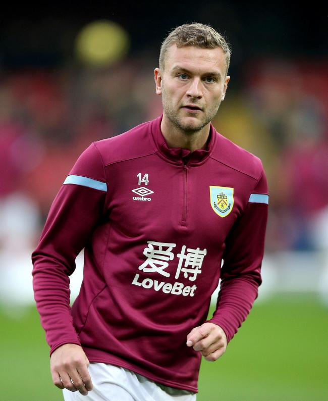 File photo dated 23-11-2019 of Burnley's Ben Gibson. PA Photo. Issue date: Wednesday February 12, 2020. Burnley have confirmed that they have given defender Ben Gibson permission to train with former club Middlesbrough after his hopes of a January mov