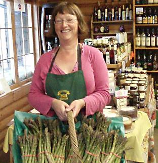 Alison Grange from Durleighmarsh Farm