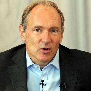 Sir Tim Berners-Lee, the inventor of the world wide web,