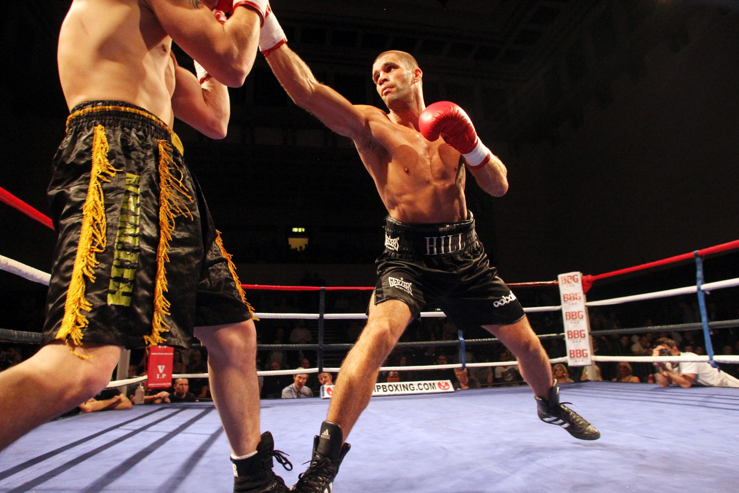 Setback for boxer Tony Hill's title hopes as Hosea Burton suffers injury