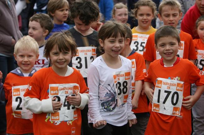 Children's Fun Run at Eastleigh 10K 2014 - The Pictures