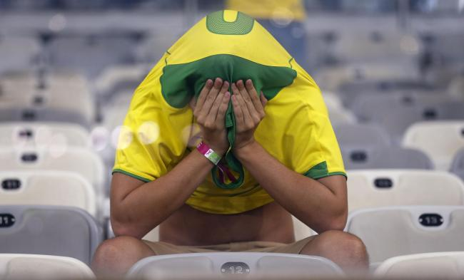 Brazil's 7-1 defeat by Germany was too much for some fans