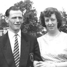 BETTY AND CYRIL BLACHFORD