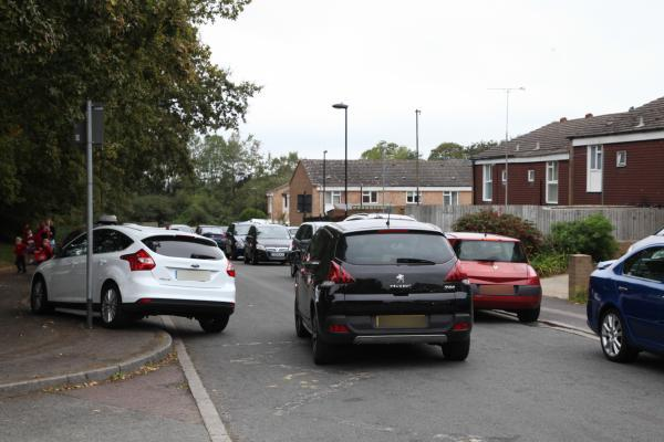 Battle of wills over school run parking