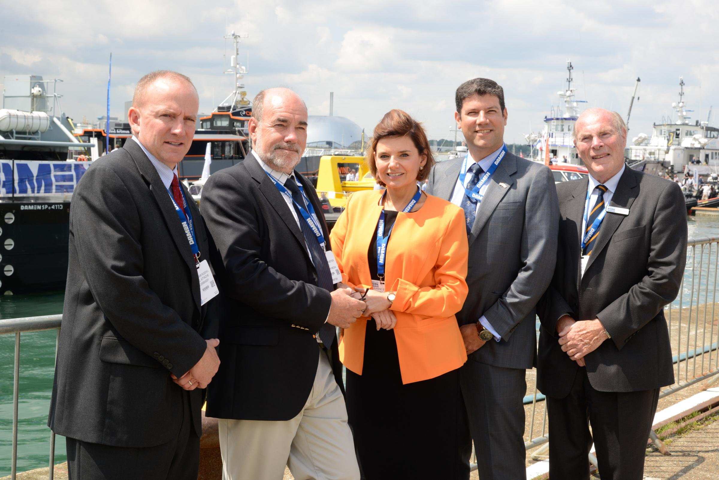 Seawork 2015 welcomed international VIP delegations from the US, Brazil, China and Italy