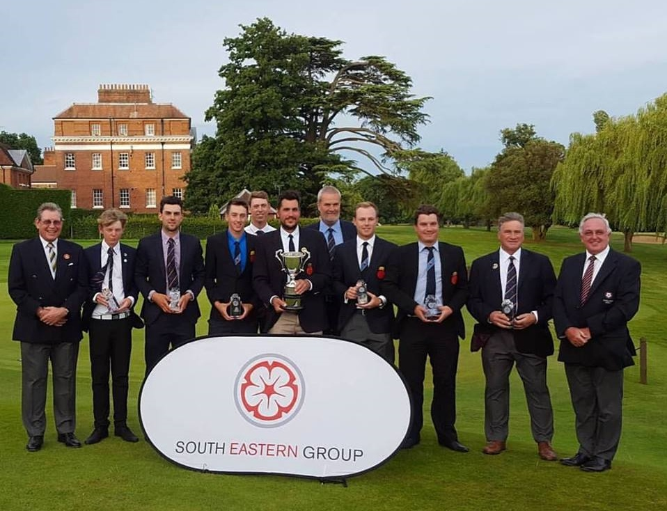Hampshire's golf team at Calcot Park