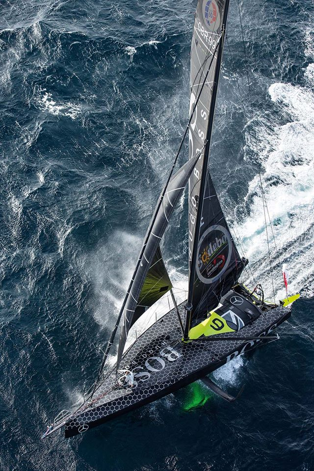 SAILING: Thomson up to third in Vendee Globe