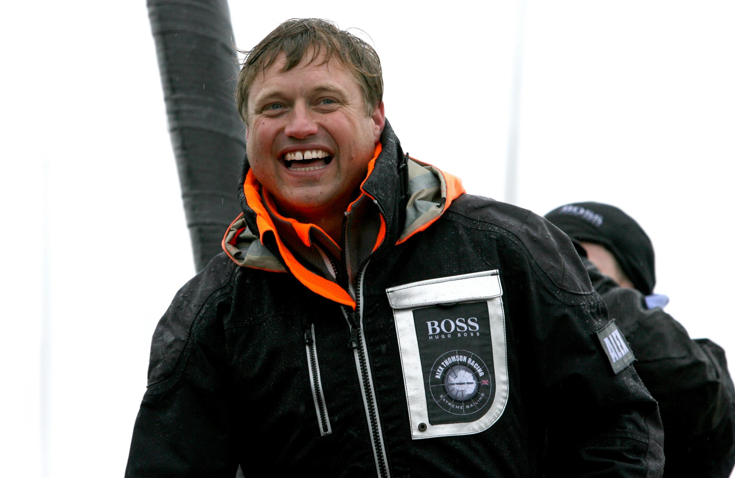 Thomson breaks another record on Vendee Globe