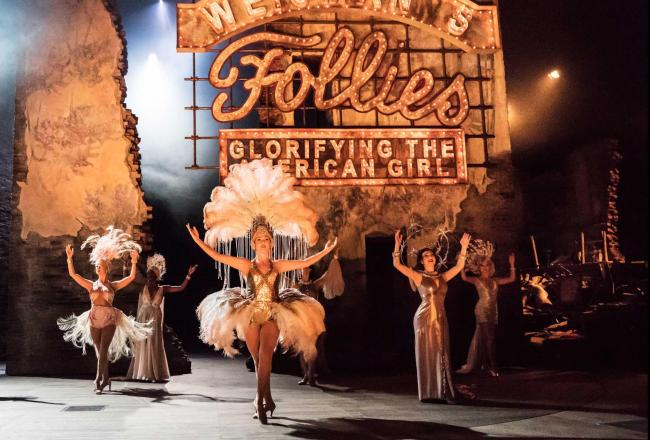 Follies at the National Theatre. Photo Johan Persson