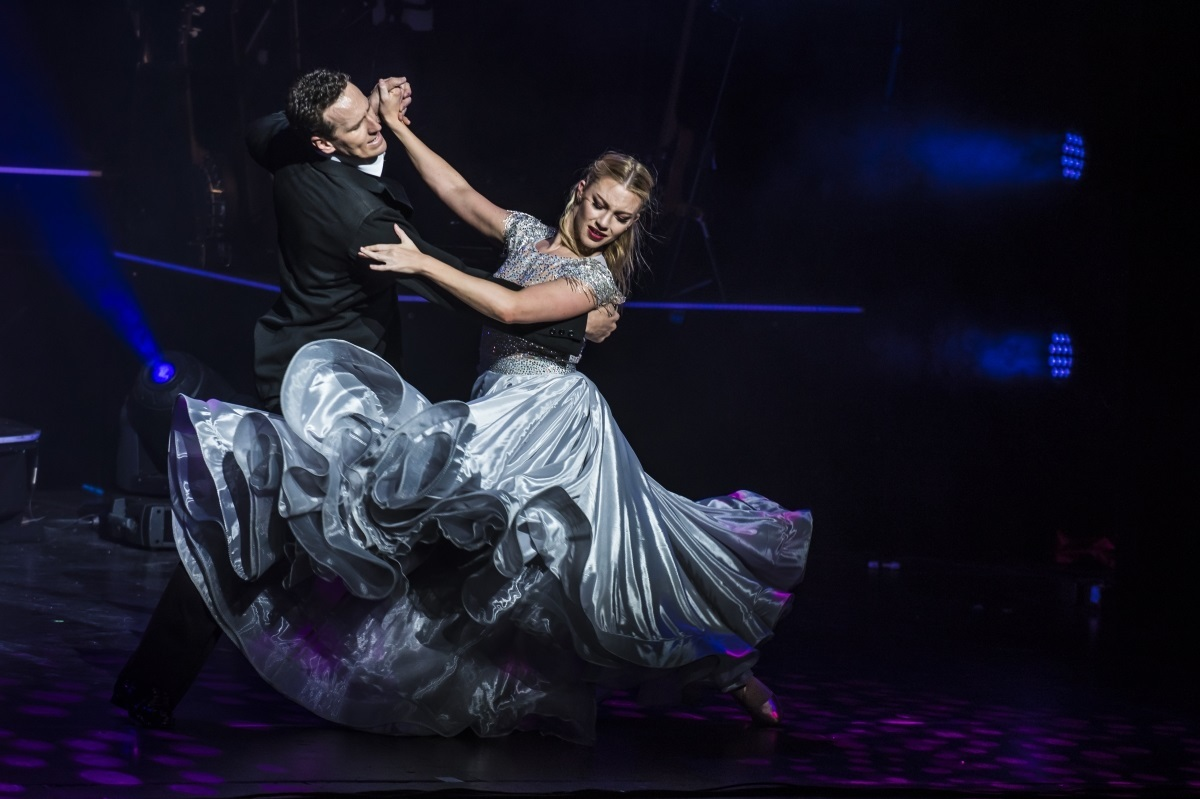 Brendan Cole tours with his show All Night Long in 2018