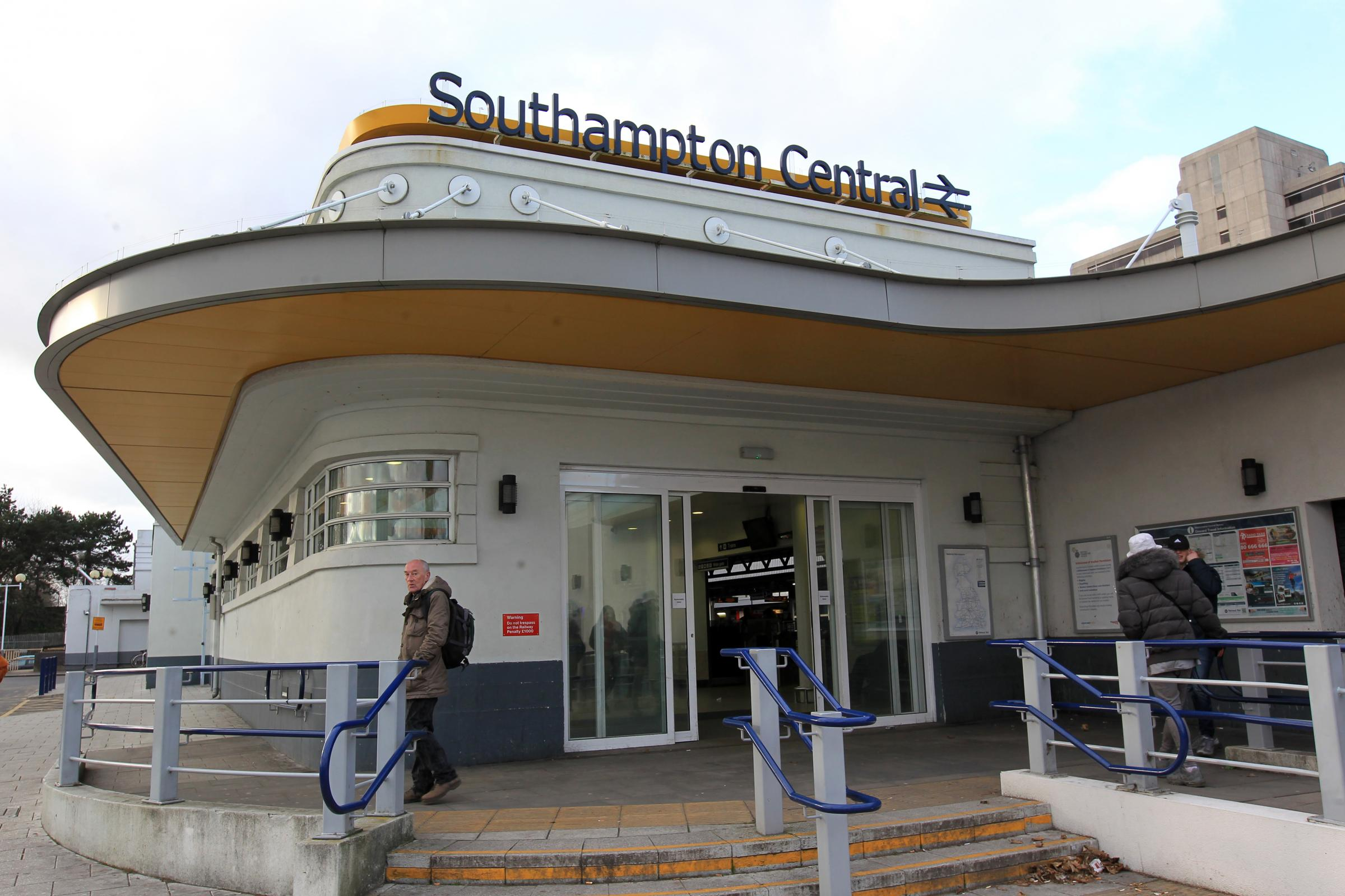 Southampton Central railway station