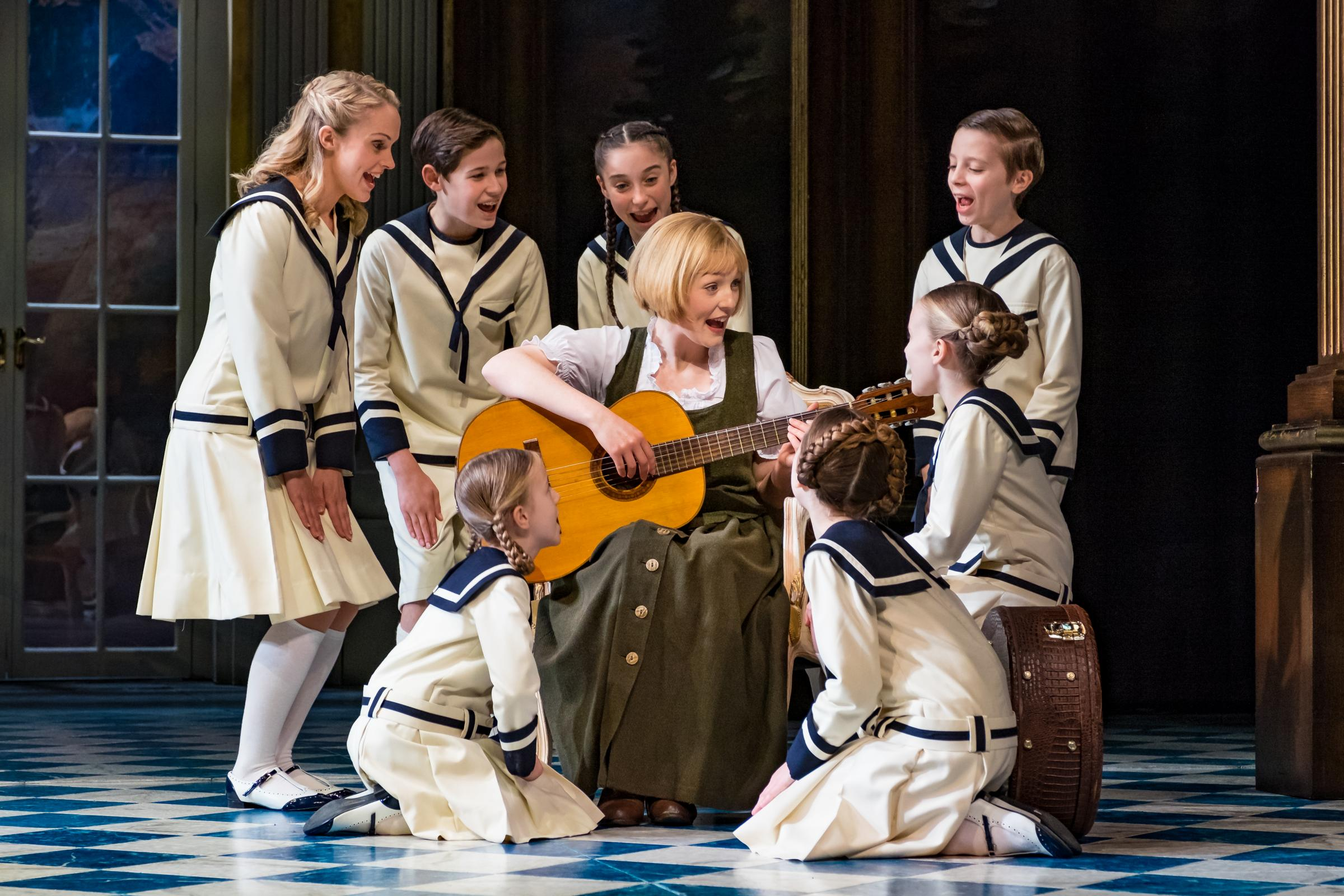 The Sound of Music starring Lucy O'Byrne as Maria