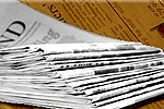 Daily Echo: Newspaper Delivery Stack