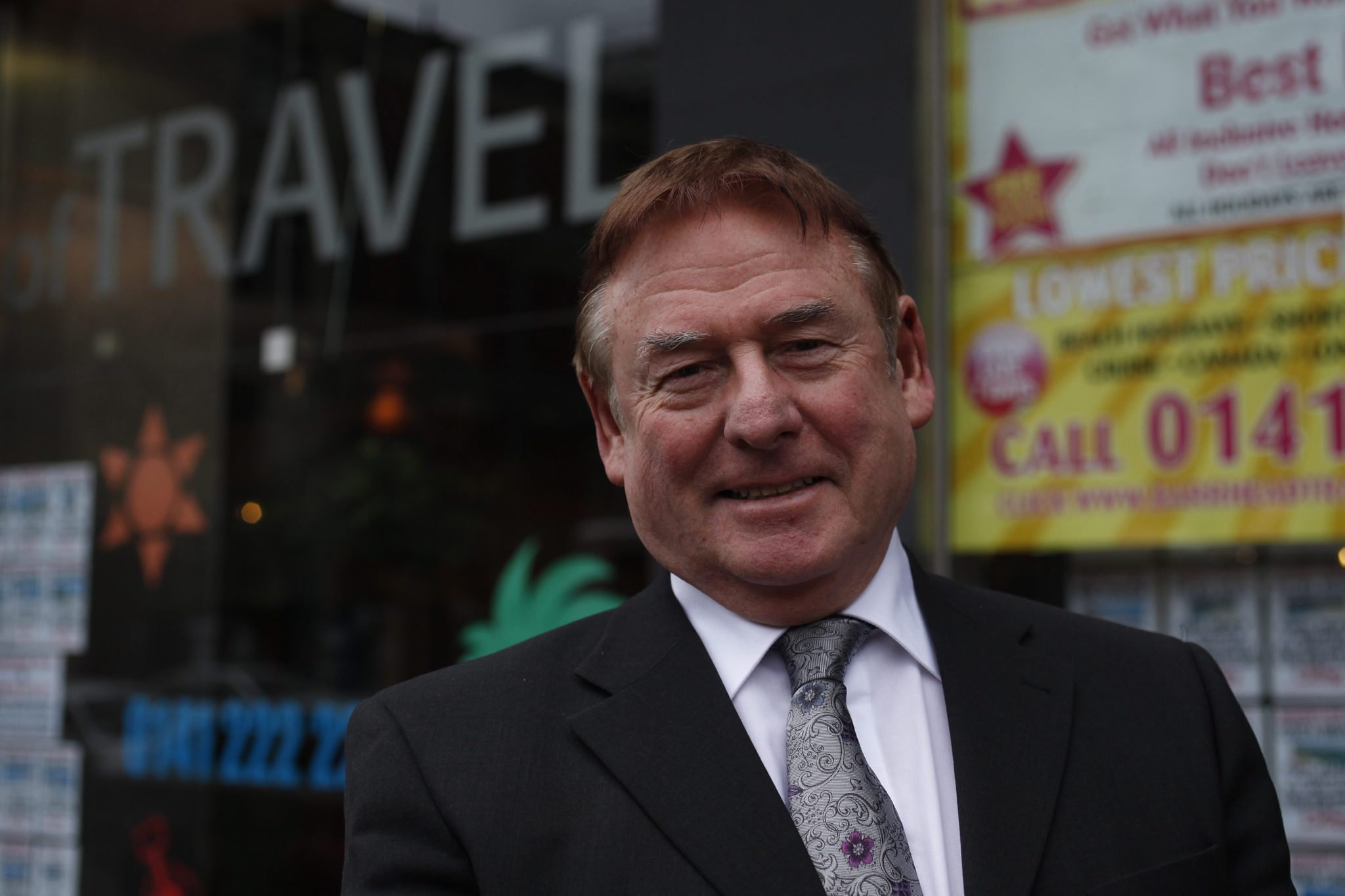 Bill Munro, chairman and founder of Barrhead Travel, which is to open a new store in Above Bar, Southampton