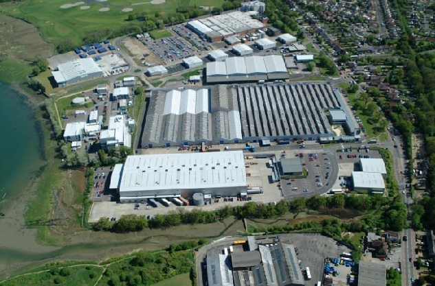 Fareham Business and Trade Park.