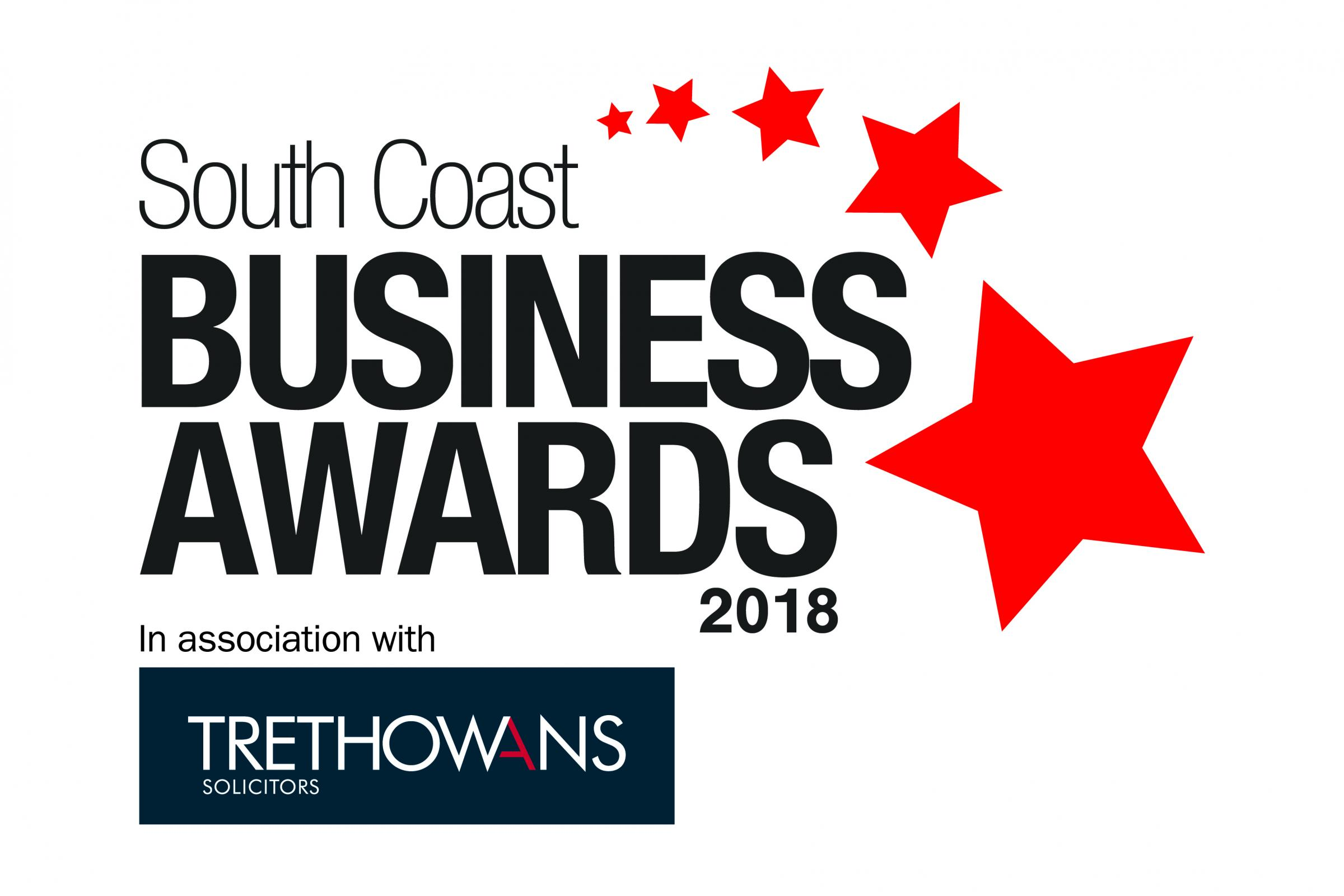 South Coast Business Awards 2018 logo