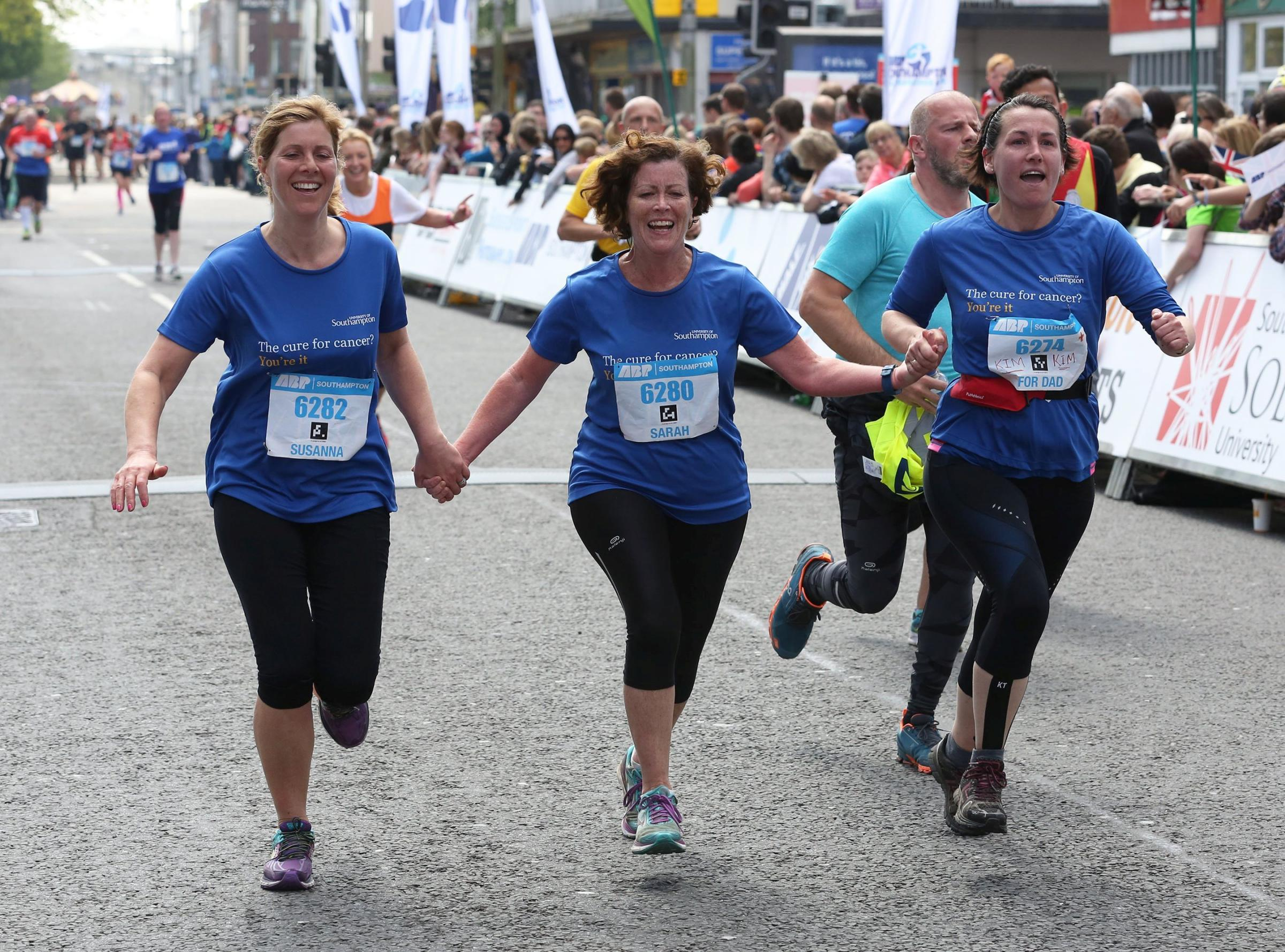 Runners taking part in last year's ABP Southampton Marathon event