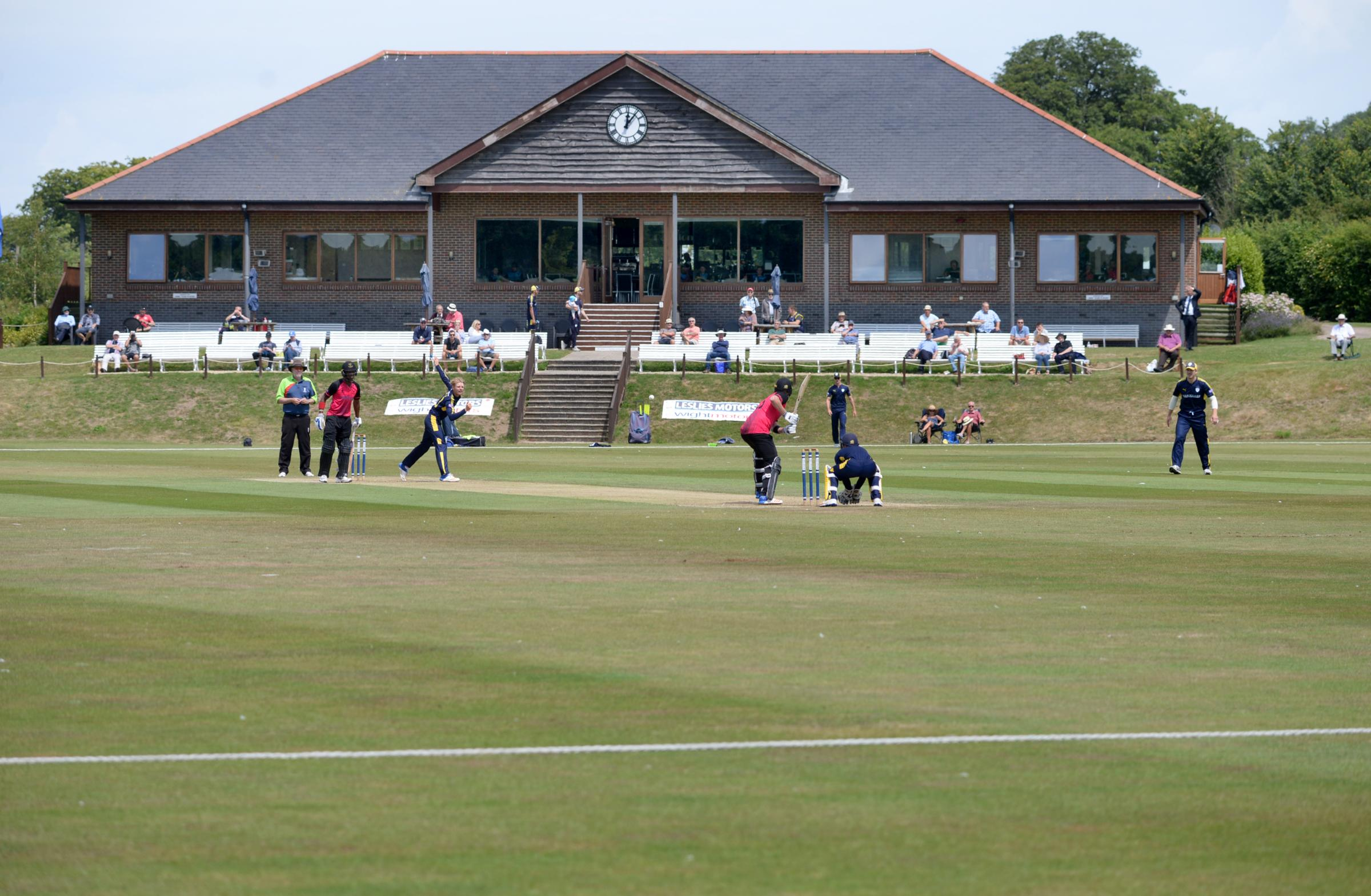 Hampshire Cricket return to the Isle of Wight