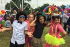 PHOTOS: Families get into the carnival spirit in West End