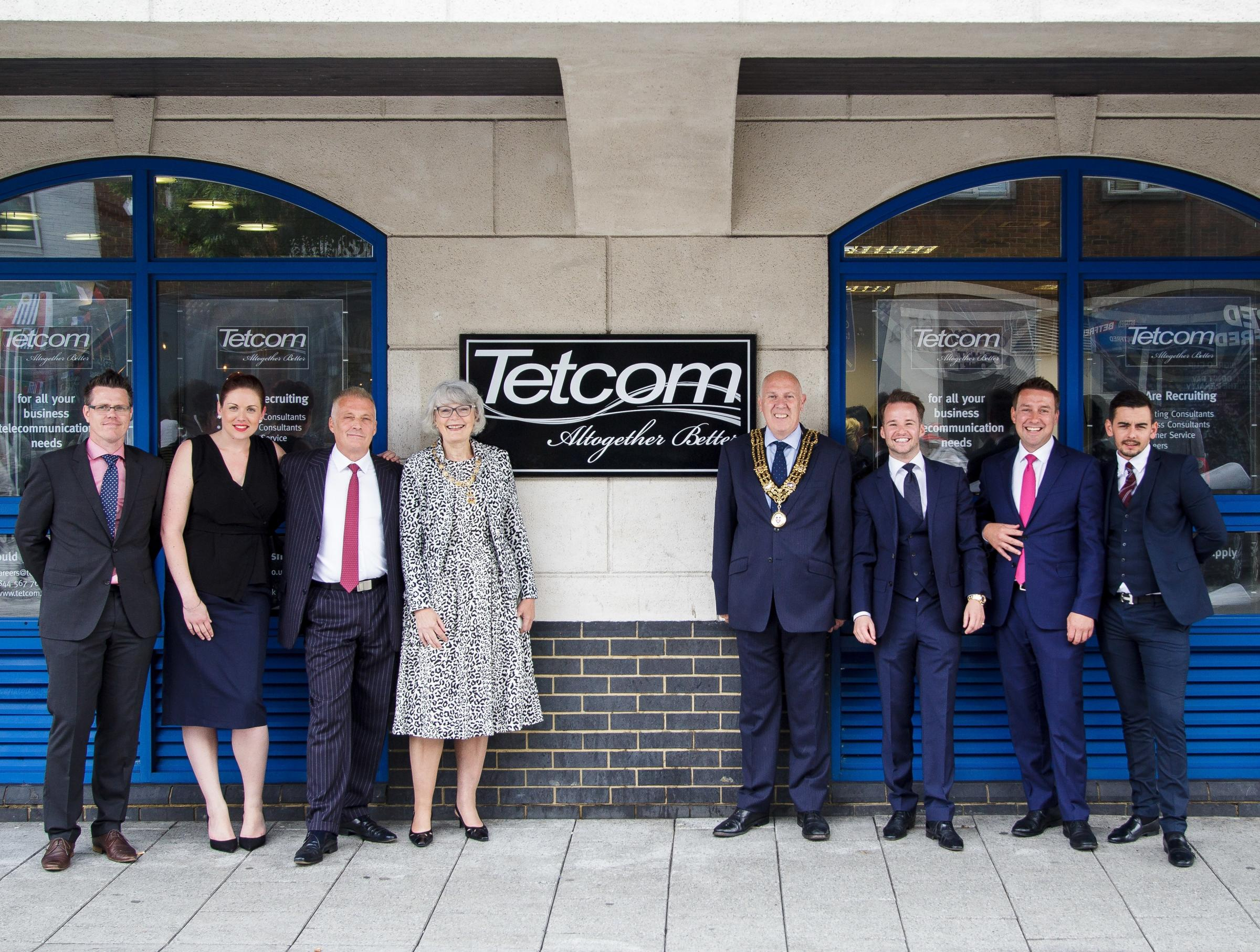 The opening of Tetcom in London Road, Southampton