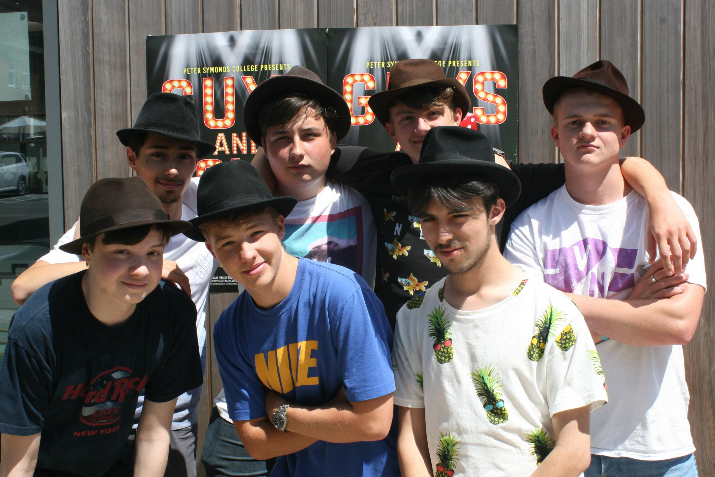 Peter Symonds students in Guys & Dolls