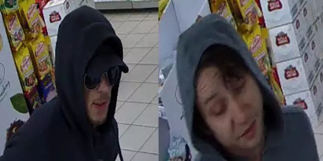 CCTV of two men police would like to speak to about a burglary in Bitterne