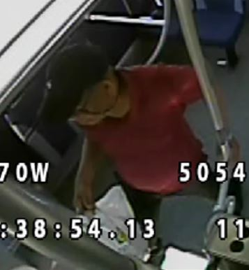 The man police wish to speak to after sexual assaults on a Bluestar bus on June 11