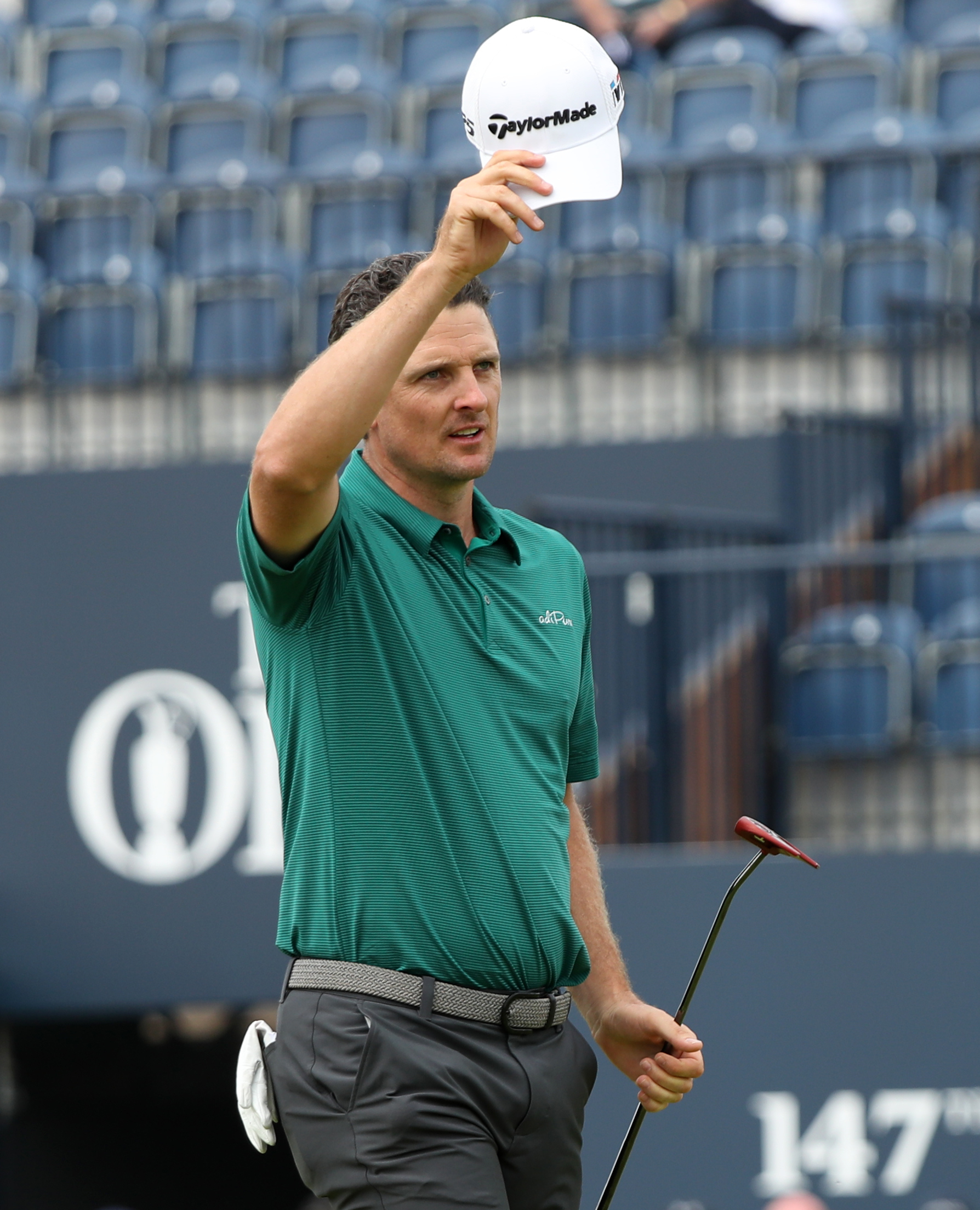 Justin Rose at The Open today