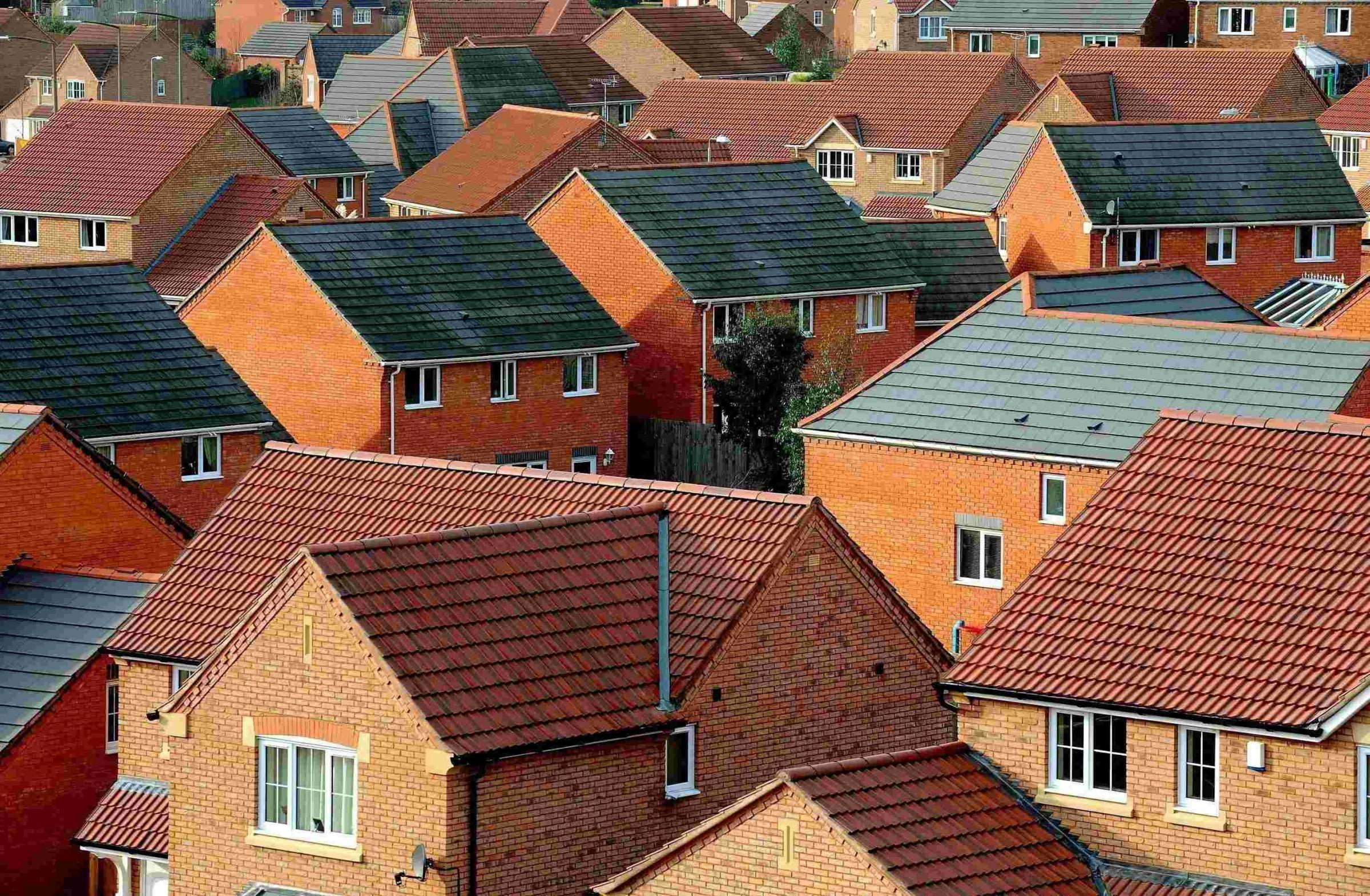 File photo dated 22/01/2008 of new homes in South Derbyshire. Home ownership is less affordable than it was 50 years ago after prices almost quadrupled in real terms, according to research by Halifax. PRESS ASSOCIATION Photo. Issue date: Wednesday January