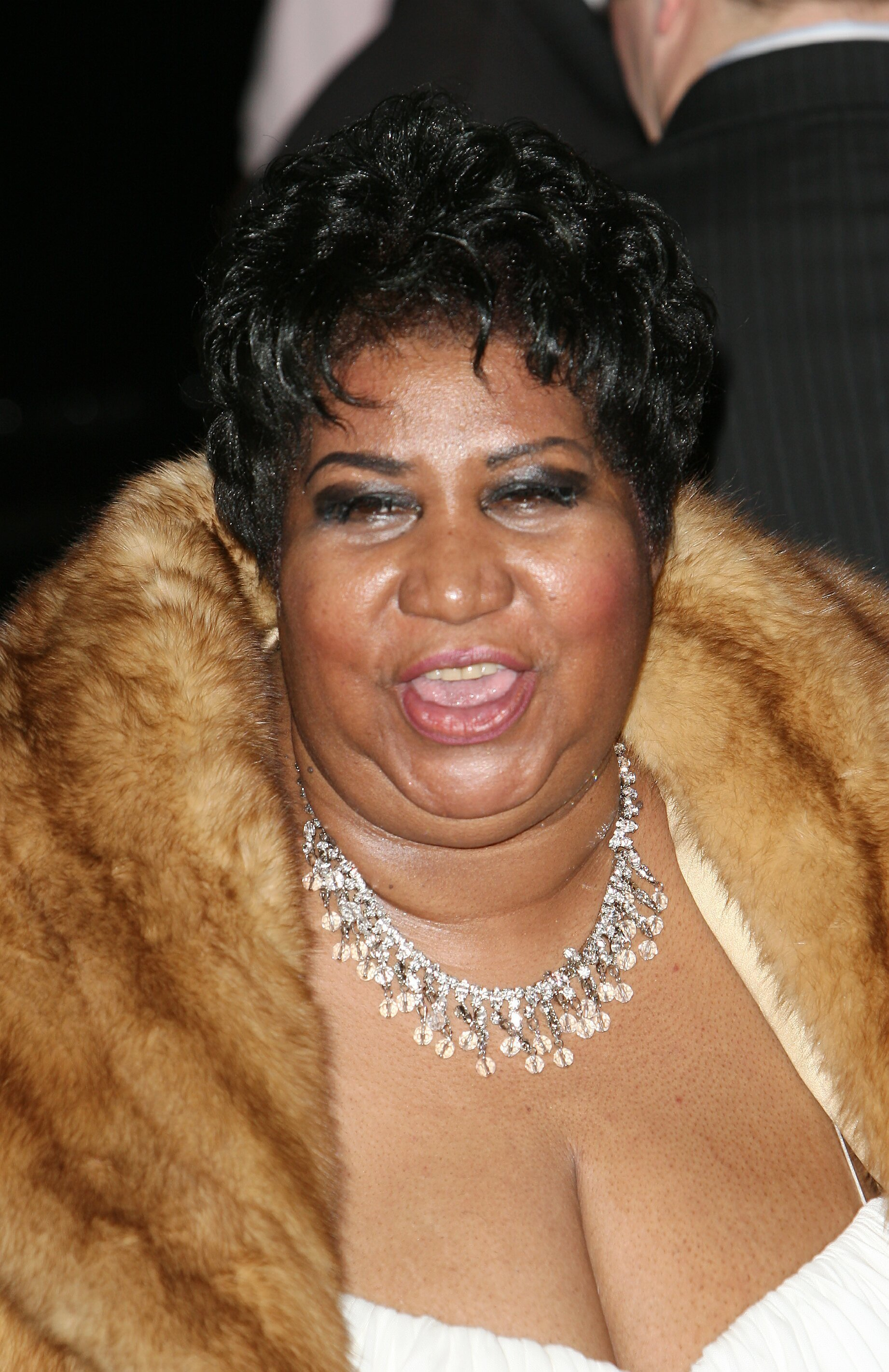 File photo dated 10/02/08 of Aretha Franklin, who is seriously ill, according to multiple sources. PRESS ASSOCIATION Photo. Issue date: Monday August 13, 2018. The music star, otherwise known as the Queen of Soul, was first reported to be