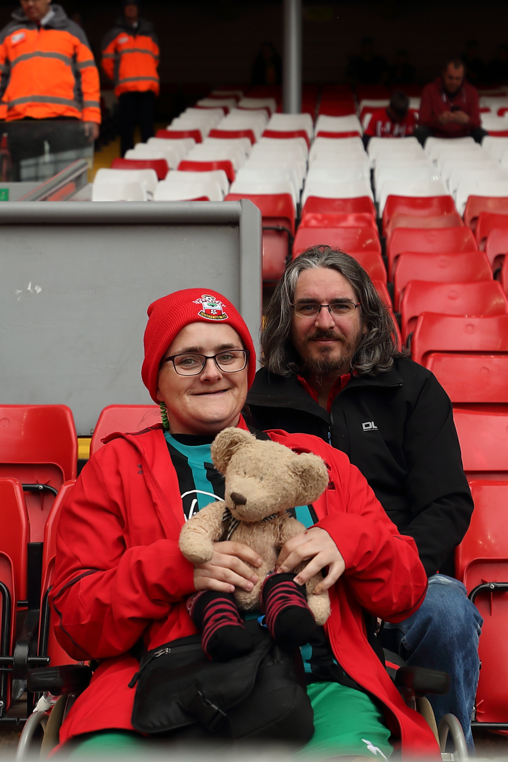 Liverpool v Saints - are you in our fan pictures?