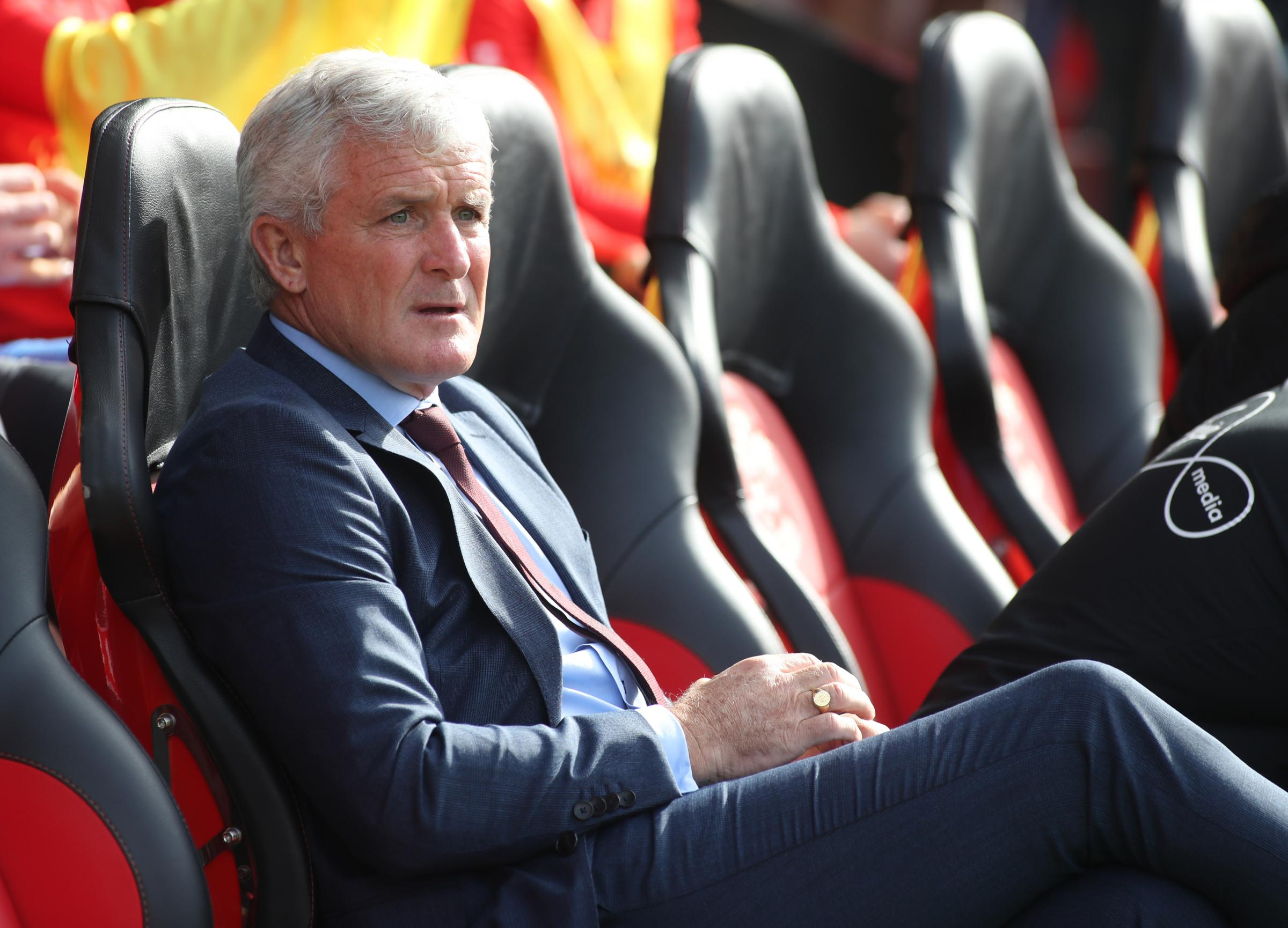 Saints manager Mark Hughes: We were too passive