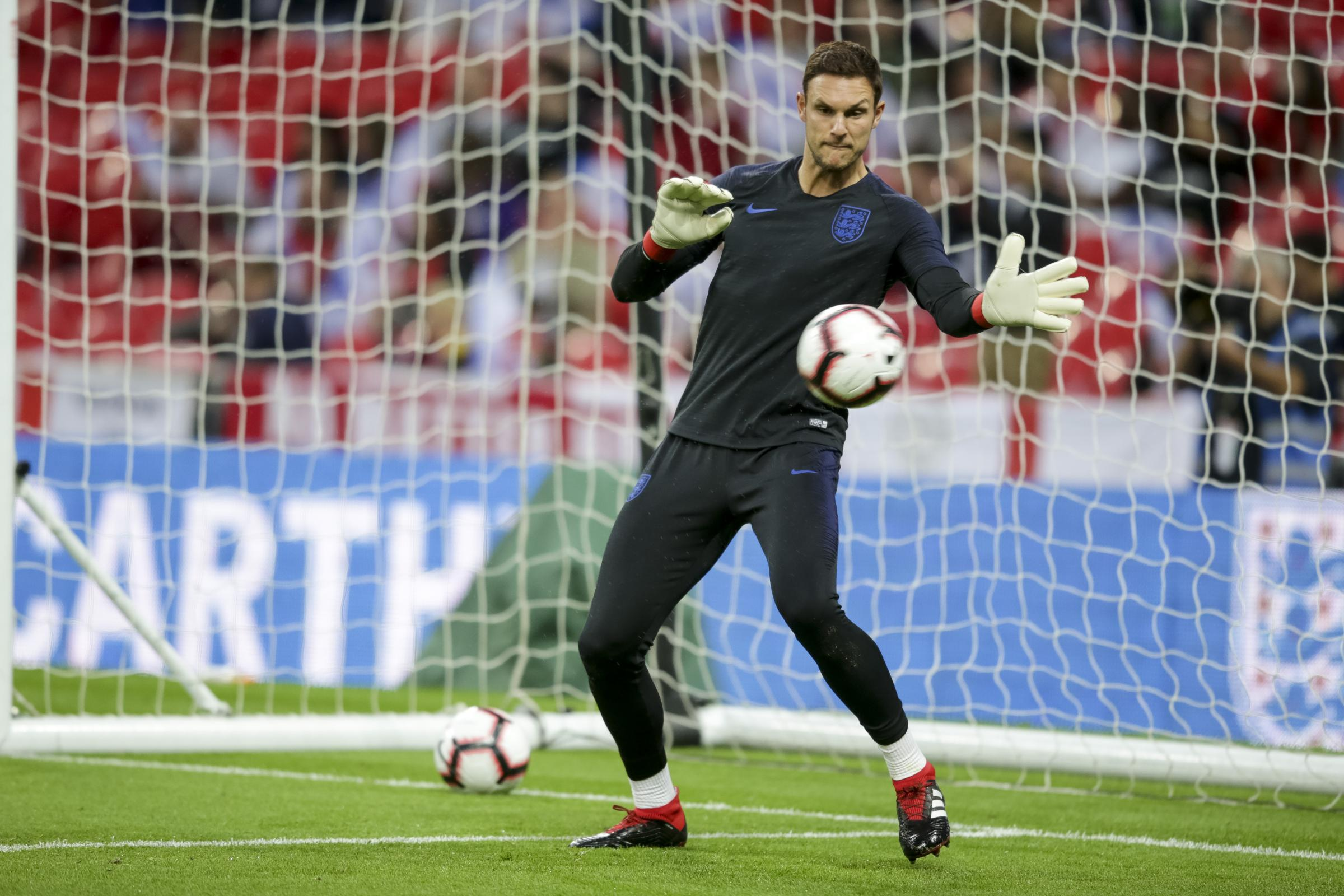 Alex McCarthy of England during the Uefa Nations League match between England and Spain at Wembley Stadium, London, England on 8 September 2018. Photo by Robin Jones/Digital South..