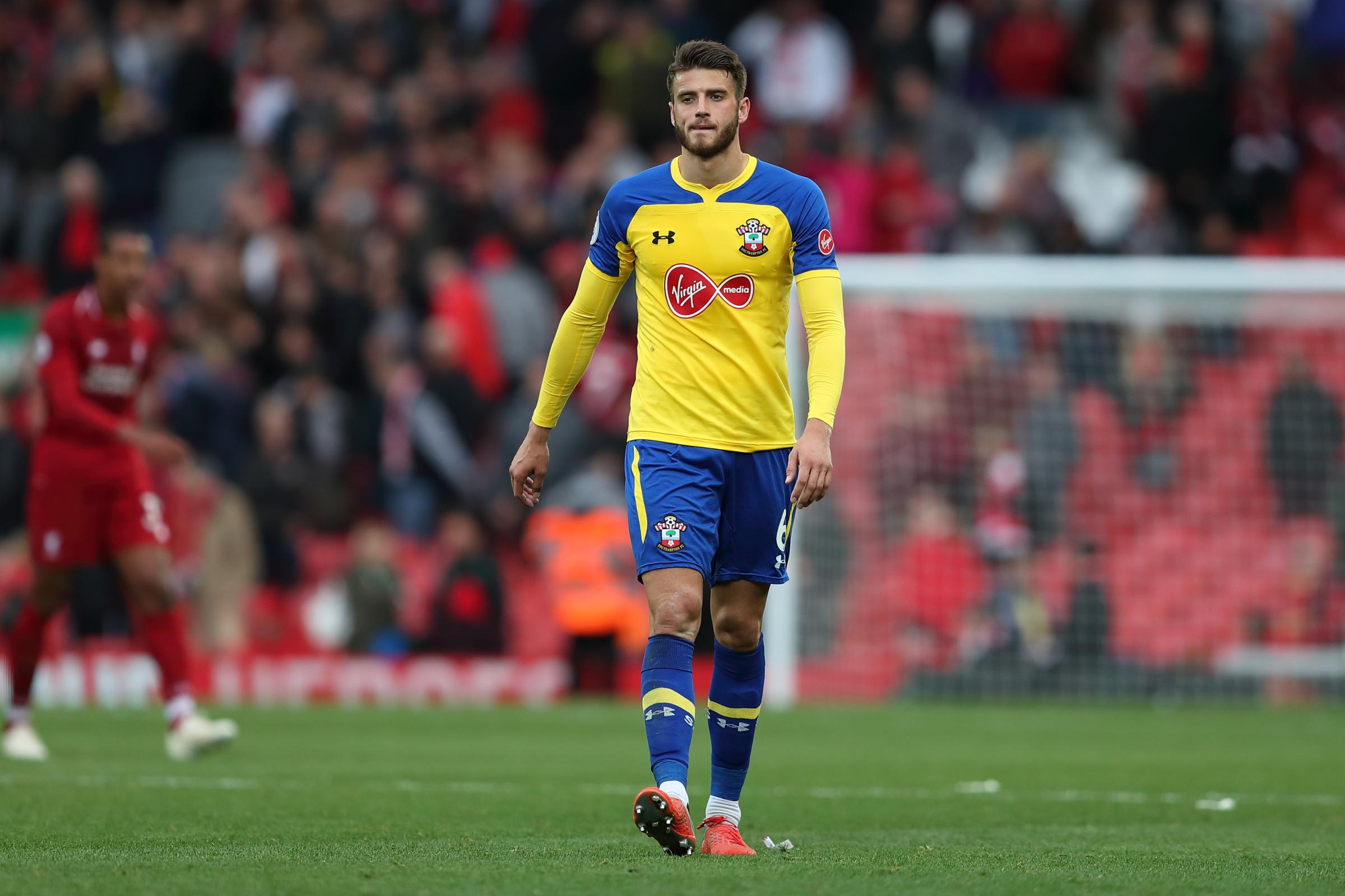 Liverpool vs Southampton, FA Premier League, Anfield, 22nd September 2018 - Wesley Hoedt of Southampton.