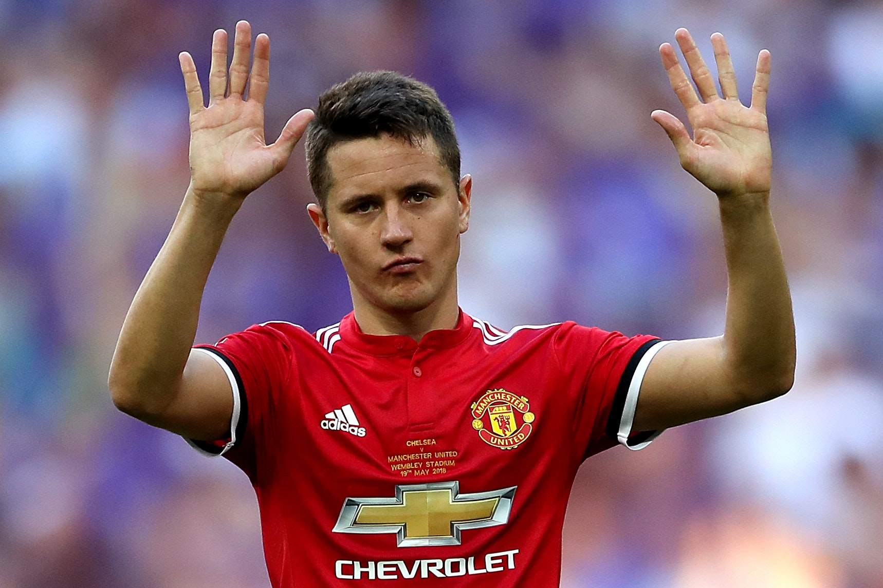 Ander Herrera wants United to build on the win in Turin